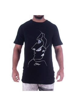 T-shirt uomo Two Faces Startup