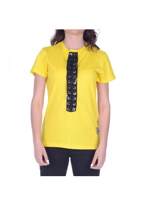 t-shirt con stringhe