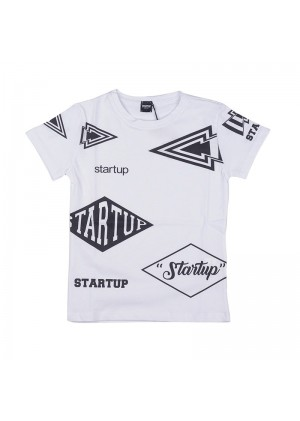 T-Shirt baby patch Startup
