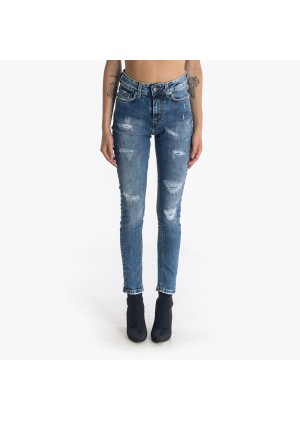 Jeans Startup Athleisure con toppe