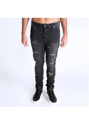 U2582/1 DENIM ELASTIK NERO