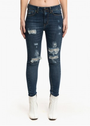 Jeans con toppe FR426