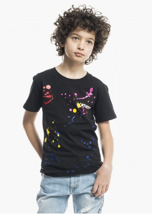 T-Shirt Schizzi Colorati