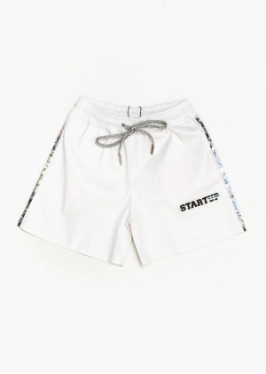 Shorts con fasce crystal