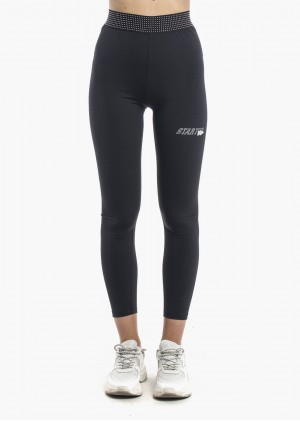 Leggings Elastico Borchie