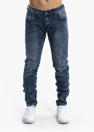 Jeans Slim Fit Blue Denim JK-041